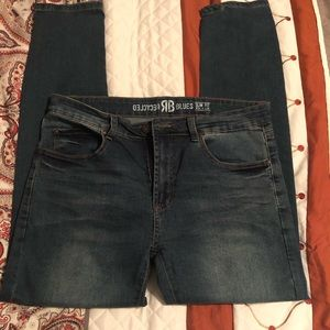 Recycled Blues Slim fit men's Jeans
